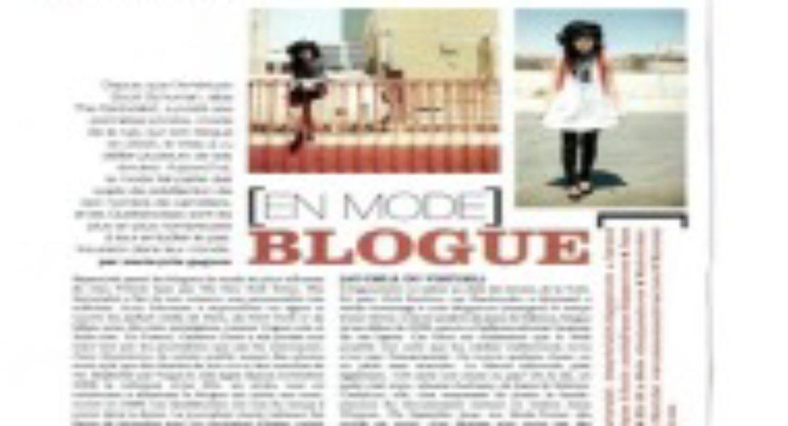 Jeans & Stilettos dans le magazine Clin d'oeil (édition Septembre 09)