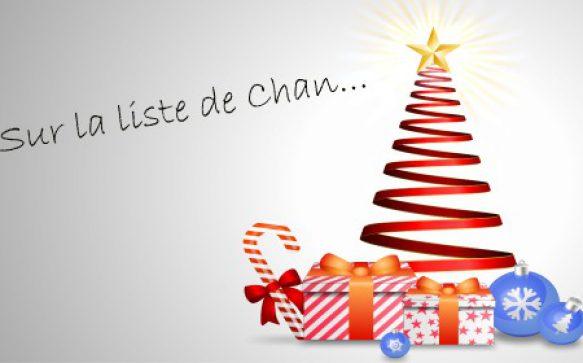 Sur la liste de Noël de Chan