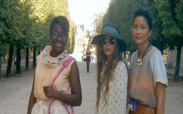Anne, Julie et Nancy à la Fashion Week de Paris