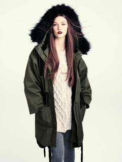 Look automne d'H&M.