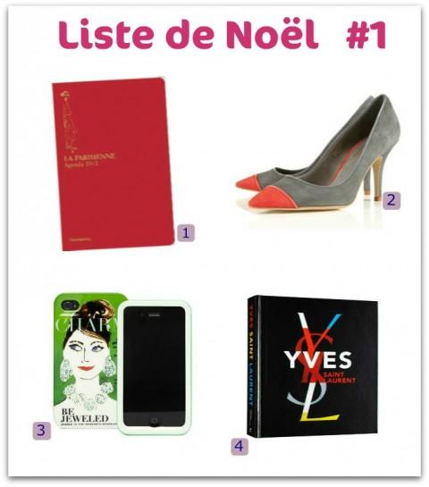 Liste Cadeaux de Noël 2011 - Jeans & Stilettos