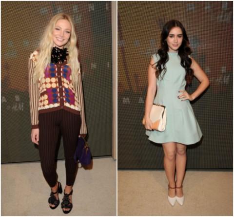 clara - Lily Collins - Marni pour H&M - © Jason Merritt - Jeans & Stilettos