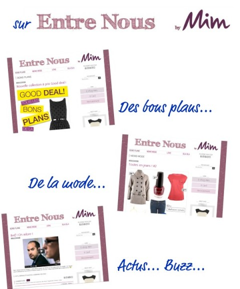 Blogue Entre nous by MIM - Jeans & Stilettos