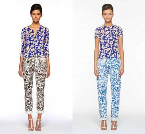 Diane von Furstenberg - Current Elliott - Jeans & Stilettos