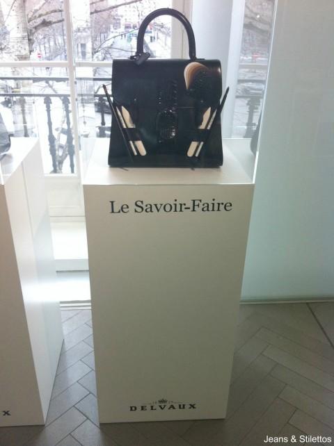 """Sac Brillant """" Le Savoir- Faire """" - Delvaux - Jeans & Stilettos"""