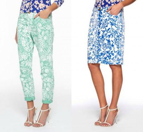 Diane von Furstenberg x Current Elliot - Jeans & Stilettos