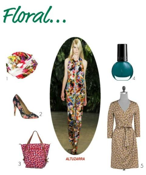 Tendance Floral - Jeans & Stilettos