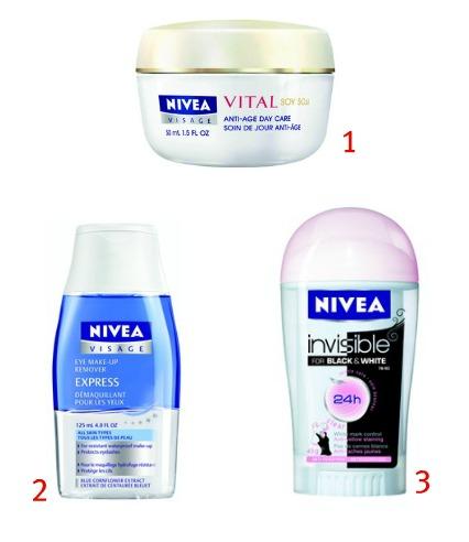 Produits Nivea