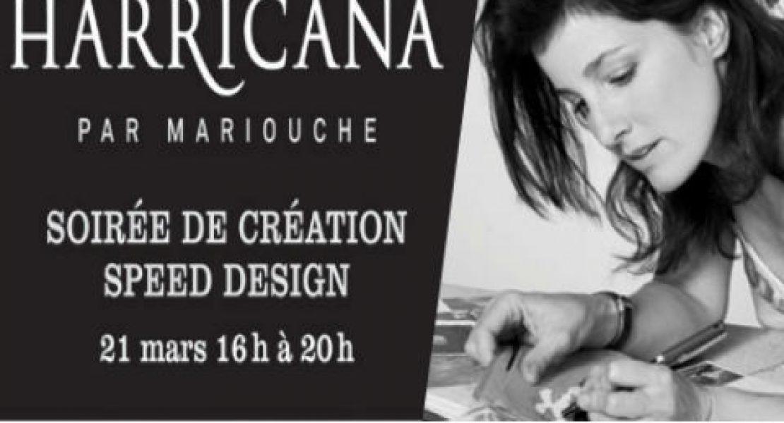 Soirée Speed Design avec Harricana par Mariouche