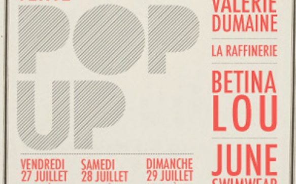 Vente Pop-Up: Betina Lou, La Raffinerie, Valérie Dumaine et June swimwear