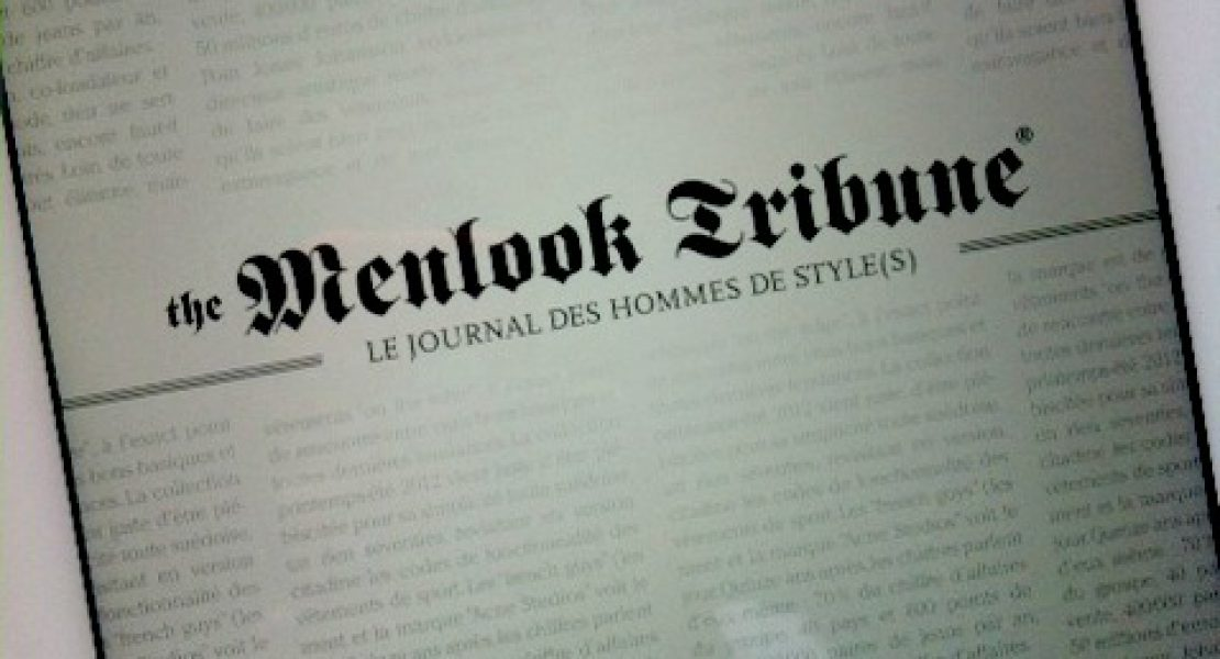 Lecture masculine : The Menlook Tribune