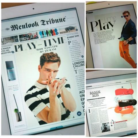 The Menlook Tribune - news news - version iPad - Jeans & Stilettos