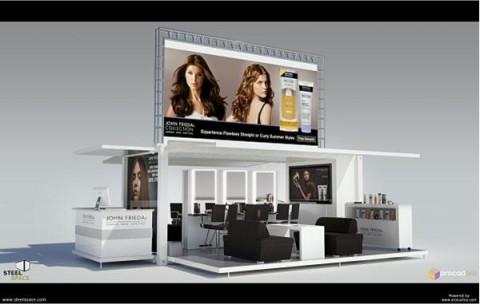 Salon mobile John Frieda - Jeans & Stilettos