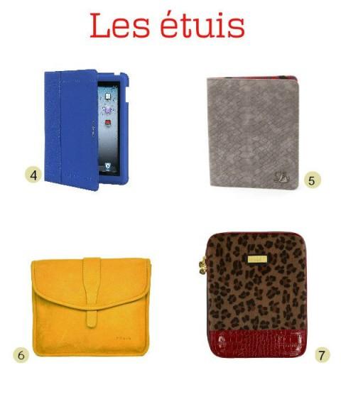 Sélection étuis pour iPad - Jeans & Stilettos