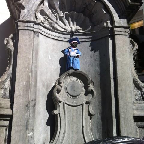 Journée bruxelloise_ Jeans & Stilettos_Le Manneken-Pis