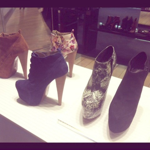 Pop-up store Aldo - Galeries Lafayette Haussmann- Jeans & Stilettos