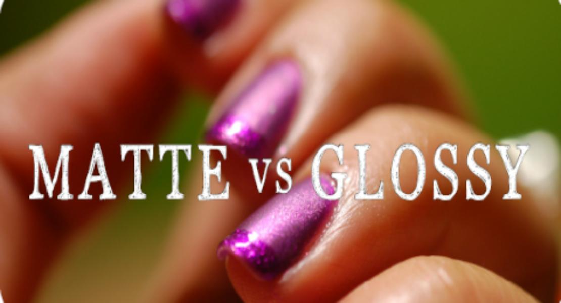 """[NAILVASION] La manicure """"Matte vs Glossy"""" par Danisha"""
