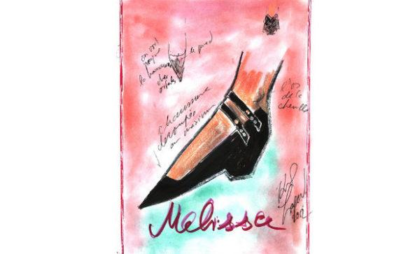 Melissa + Karl Lagerfeld à nos pieds