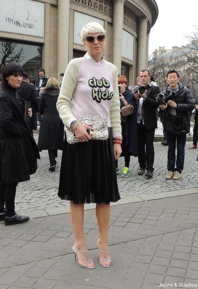 Elisa Nalin | Paris Fashion Week A/W 2013 | Jeans & Stilettos