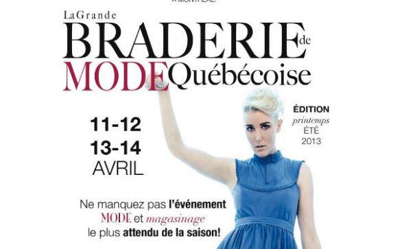 Rdv Mode – 37ème édition de la Grande Braderie de Mode Québécoise
