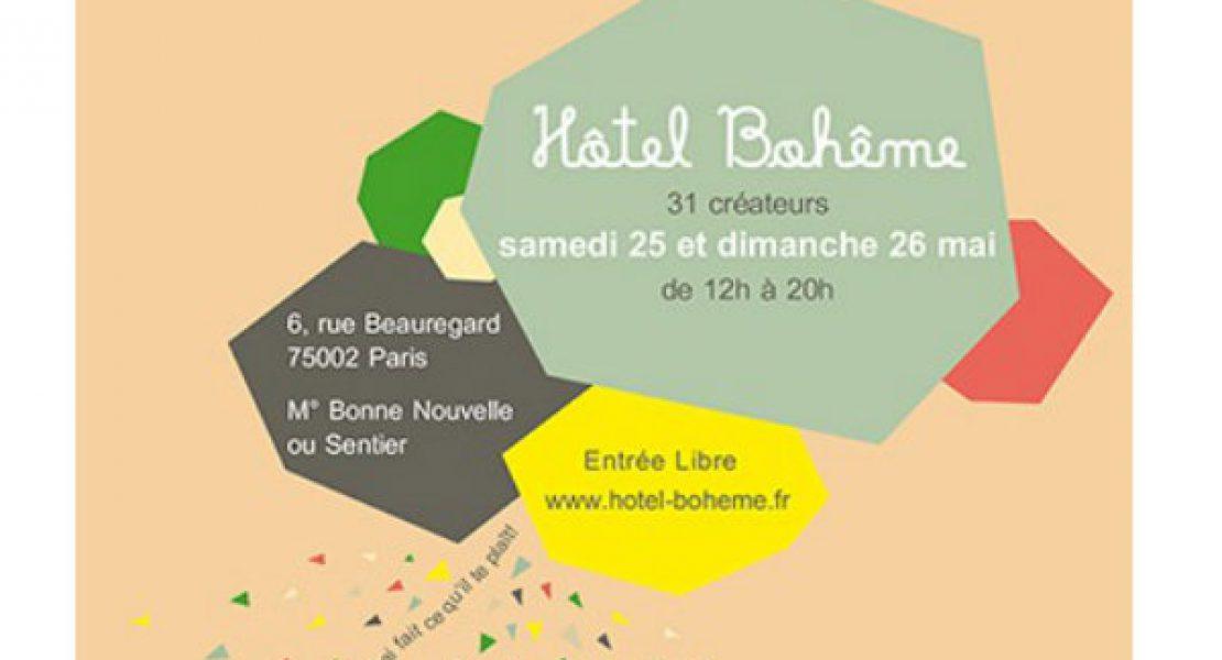 """""""En mai fais ce qu'il te plaît"""" – 31 créateurs à l'Hôtel Bohême"""