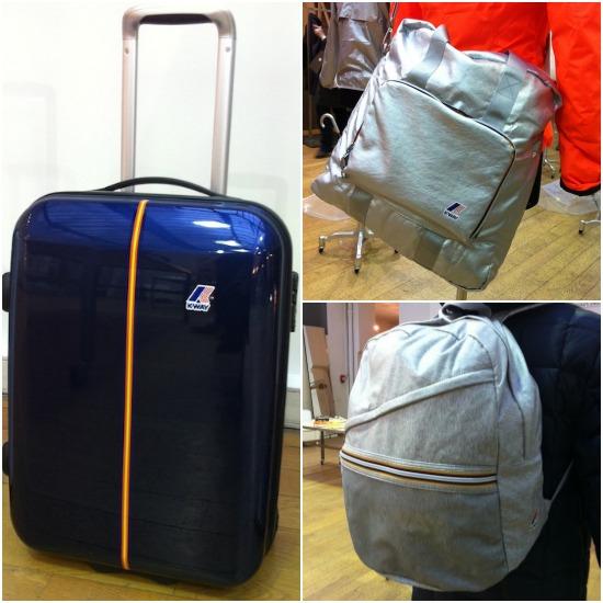 K-way bagages  sur Jeans & Stilettos