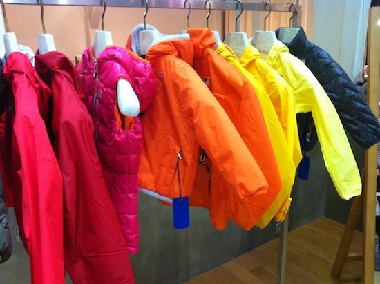 K-way pour enfants colorés  sur Jeans & Stilettos