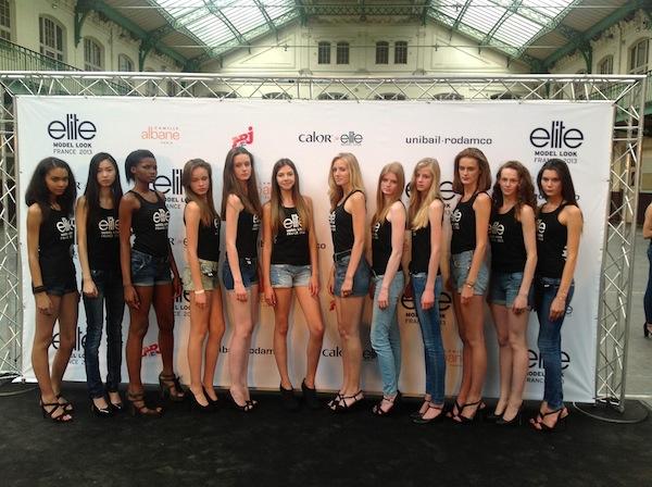 Casting national du Concours Elite Model Look France 2013 - Jeans  & Stilettos
