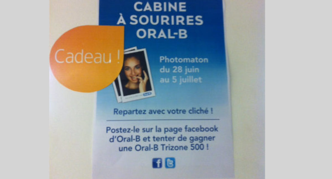 Just smile pour Oral-B