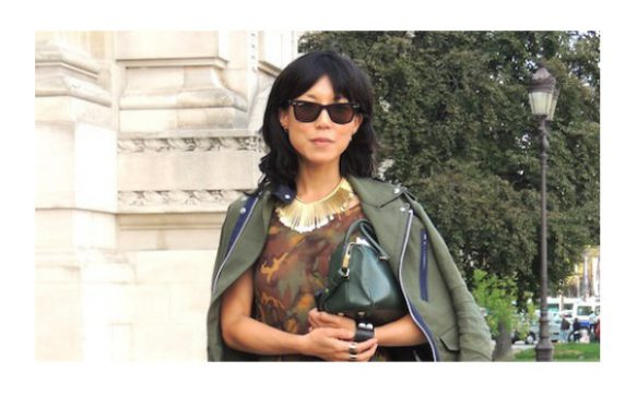 Paris Fashion Week P/É 2014 – Silhouette Camo