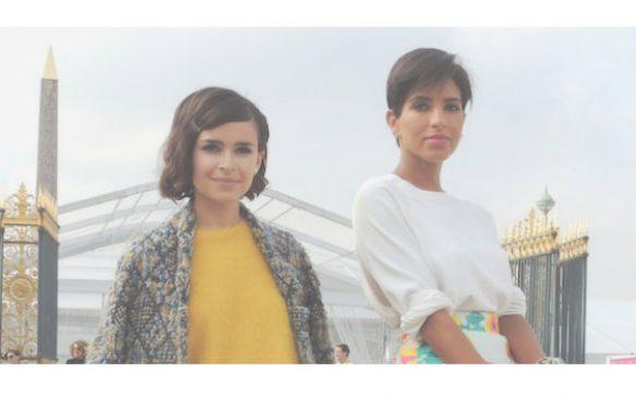 Paris Fashion Week P/É 2014 – Miroslava Duma & Deena Abdulaziz