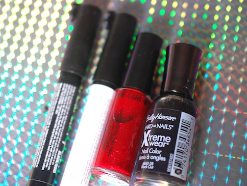 Nailvasion, Vampire nail, jeans & Stilettos