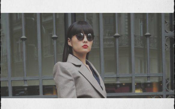 Paris Fashion Week – Lunettes rondes et plateformes