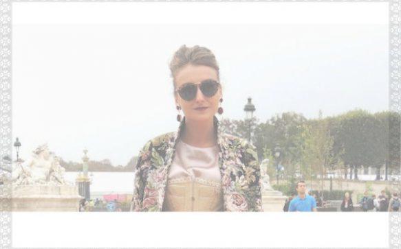 Paris Fashion Week P/É 2014 – des fleurs et un corset