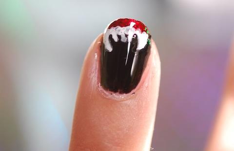 vampire nails, nailvasion, Jeans & Stilettos