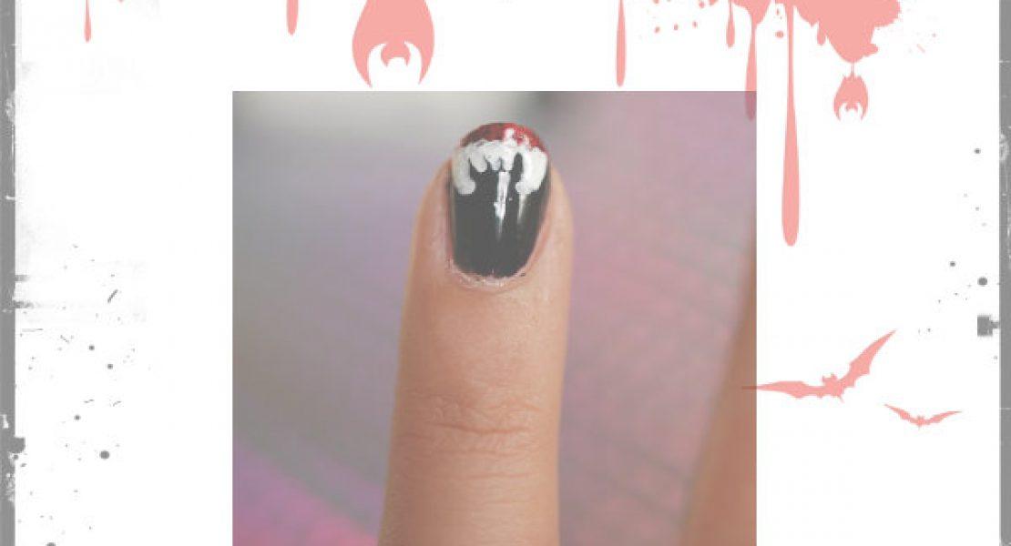 [NAILVASION] SPÉCIAL HALLOWEEN : Vampire Nails