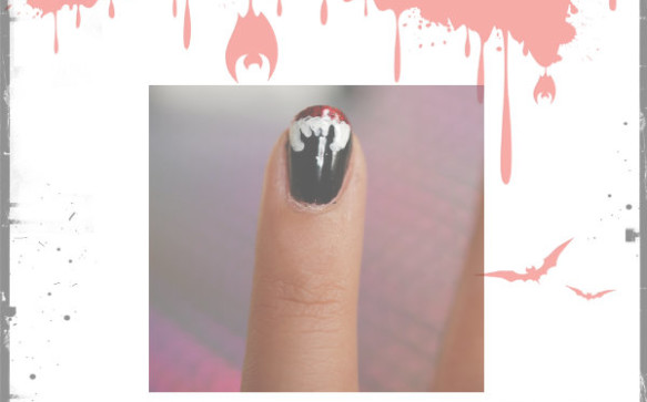 [NAILVASION] SPÉCIAL HALLOWEEN : Vampire Nails