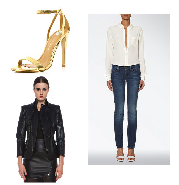 sélection shopping - What should Every Woman Have in Her Wardrobe ? - jeans & stilettos