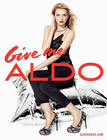 ALDO shoes- campagne Holidays 2013 - Jeans & Stilettos