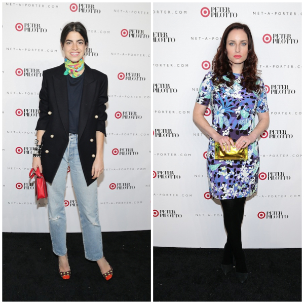 Leandra Medine et Zoe Lister Jones - Soirée Peter Pilotto for Target