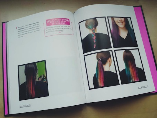DIY Dye: Bright and Funky Temporary Hair Coloring You Do at Home by Loren Lankford, Jason Hofmann