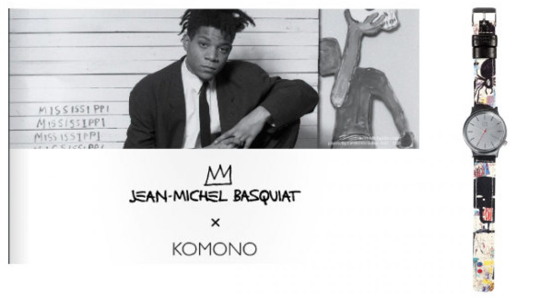 Collection Jean-Michel Basquiat x KOMONO
