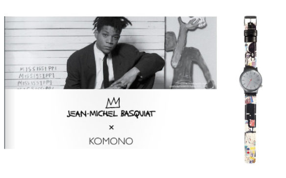 Collection Jean-Michel Basquiat x KOMONO
