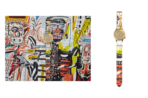 Montre Jean-Michel Basquiat x KOMONO - Magnus Philistines- Jeans & Stilettos