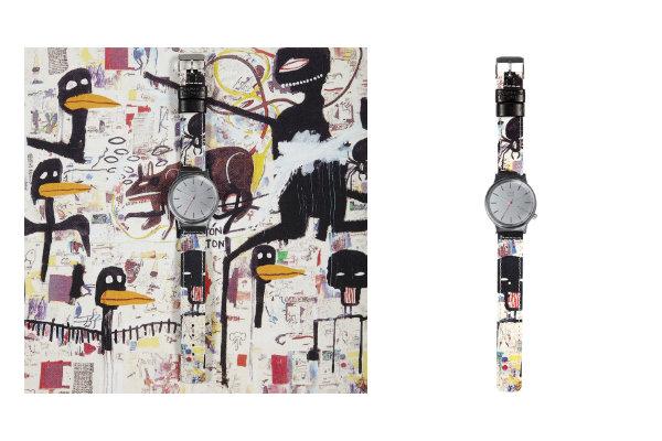 Montre Jean-Michel Basquiat x KOMONO - Wizard Museum Security - Jeans & Stilettos