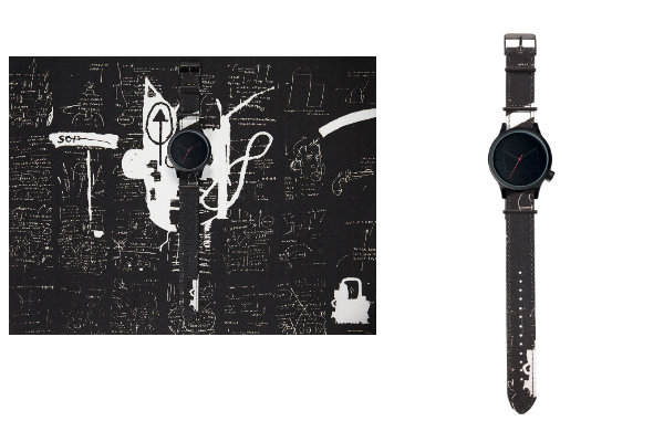 Montre Jean-Michel Basquiat x KOMONO - Magnus Return of the Central Figure  - Jeans & Stilettos