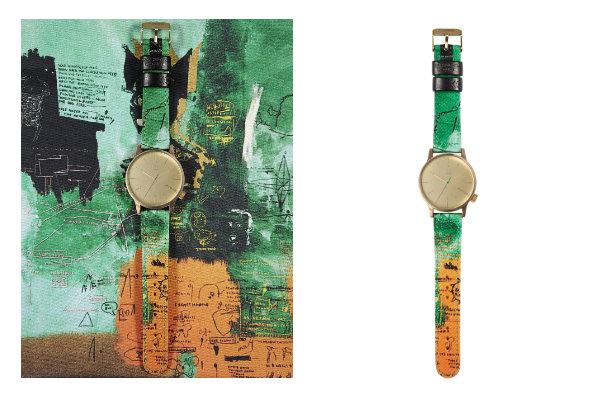 Montre Jean-Michel Basquiat x KOMONO  -The Winston, Untitled - Jeans & Stilettos