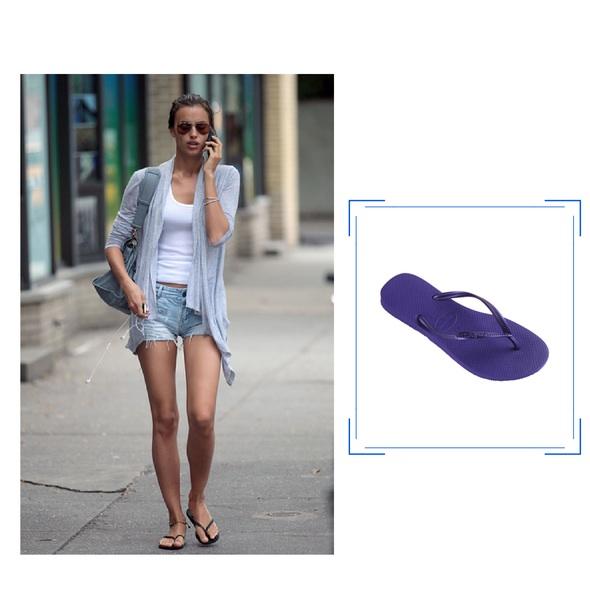 Vu sur Irina Shayk - Jeans & Stilettos