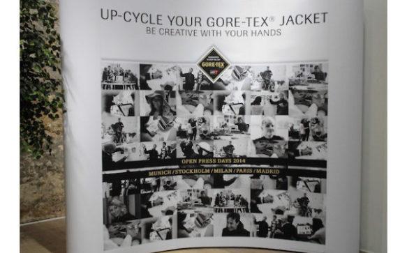 L'up-cycling project de GORE-TEX à travers une veste
