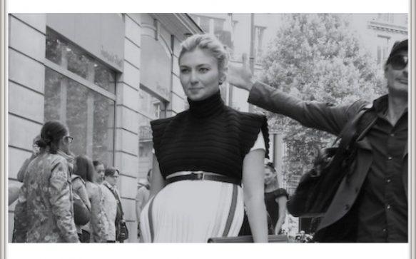 Paris Haute Couture A/H 2014-2015 : Nasiba Adilova… photobombed